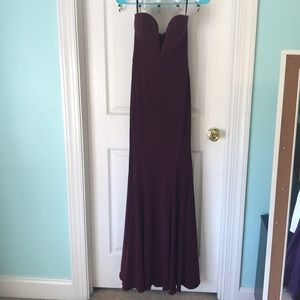 Gorgeous Jovani formal prom gown. Worn once!